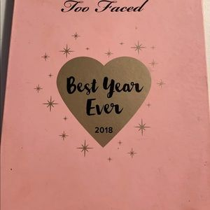 Too faced Limited edition eyeshadow palette